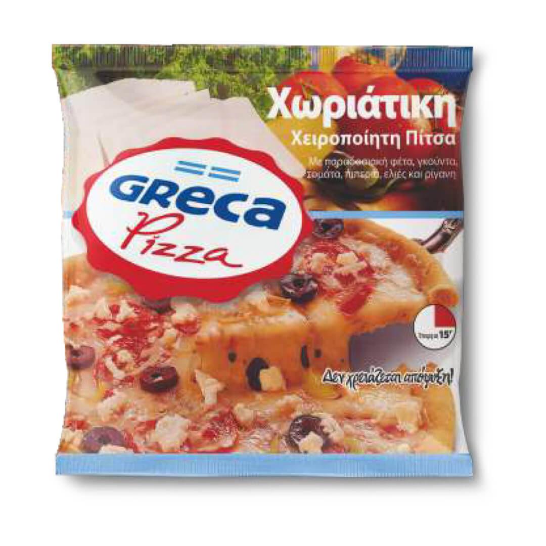 GRECA PIZZA xoriatiki pizza
