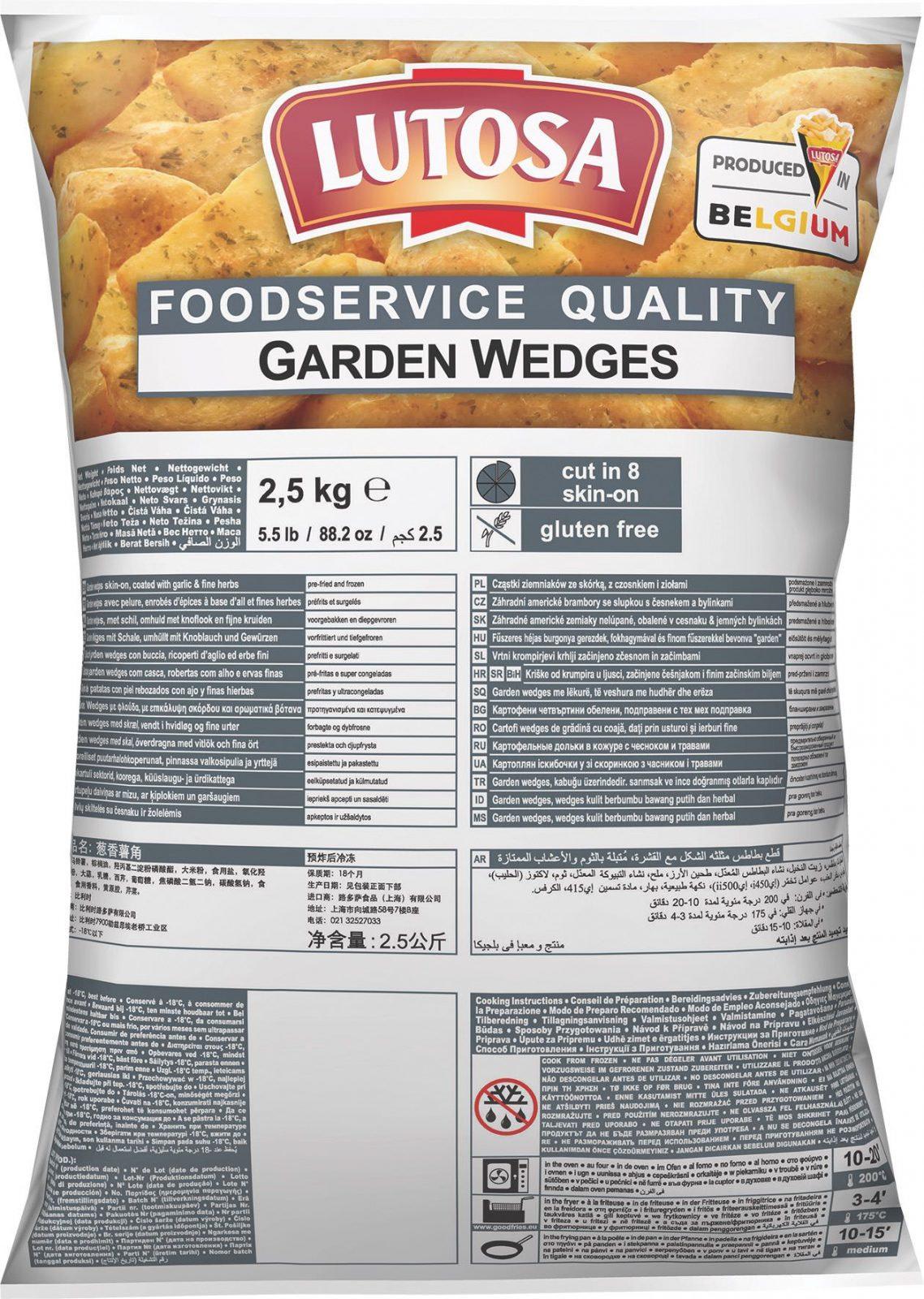 FS Garden Wedges HR