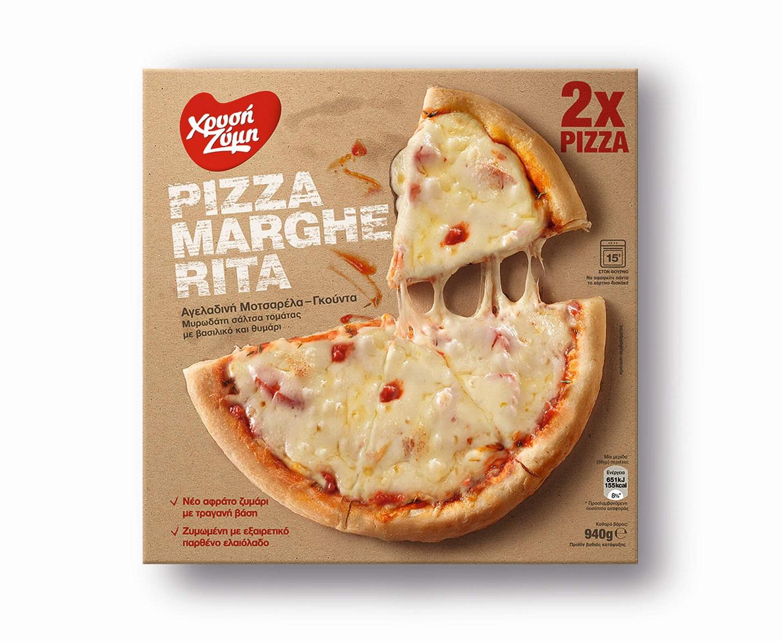 XRYSI ZYMI pizza margherita 940g