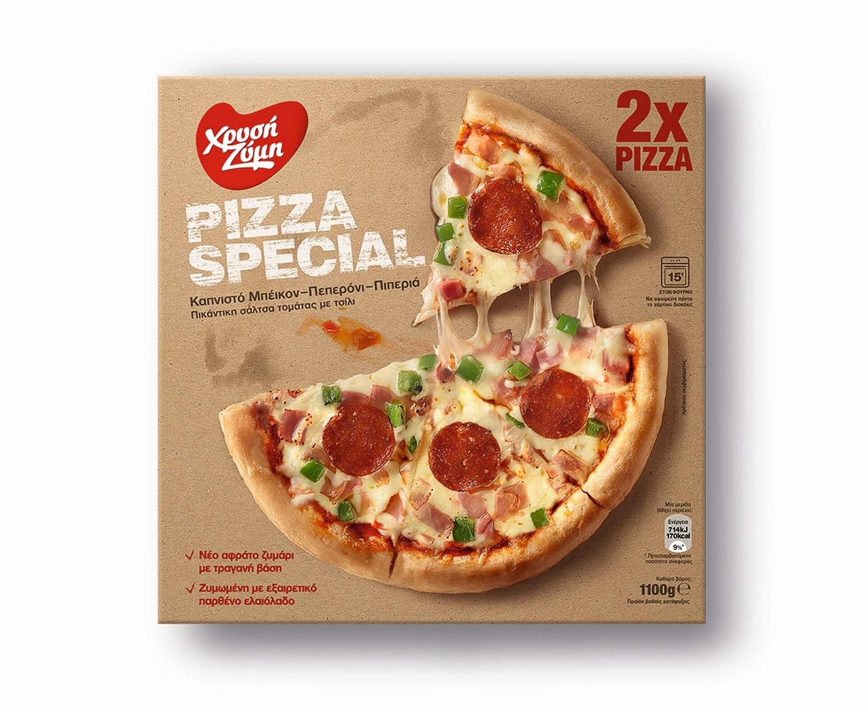 XRYSI ZYMI pizza special 1100g