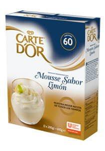CARTE D OR mousse sabor limon