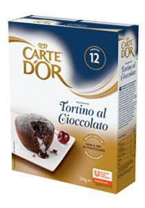 CARTE D OR tortino al gioccolato