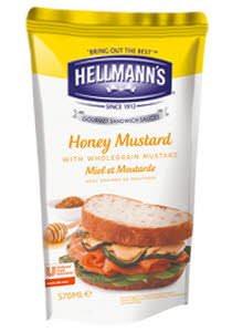 HELLMANS dressing honey mustard