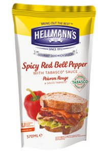 HELLMANS dressing spicy red bell pepper
