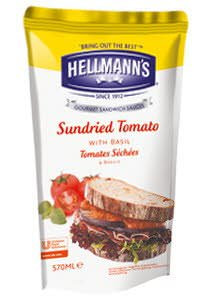HELLMANS dressing sundried tomato