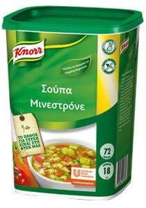 KNORR soupa minestrone