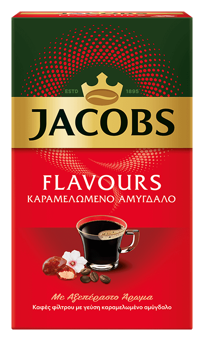 JACOBS flavours car almond 250g