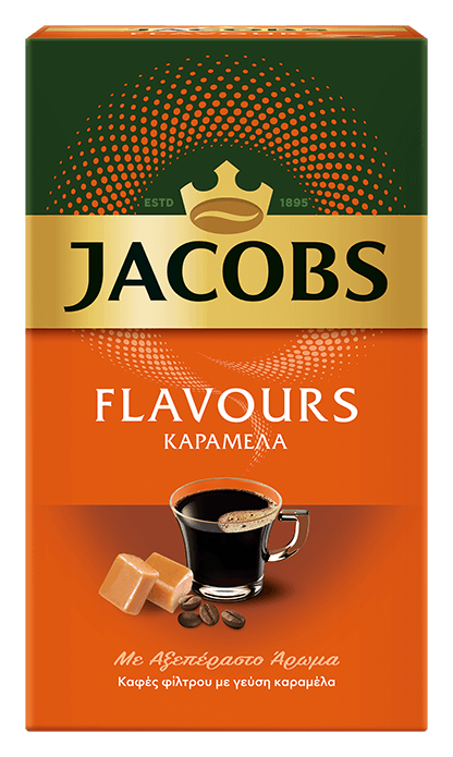JACOBS flavours caramel 250g