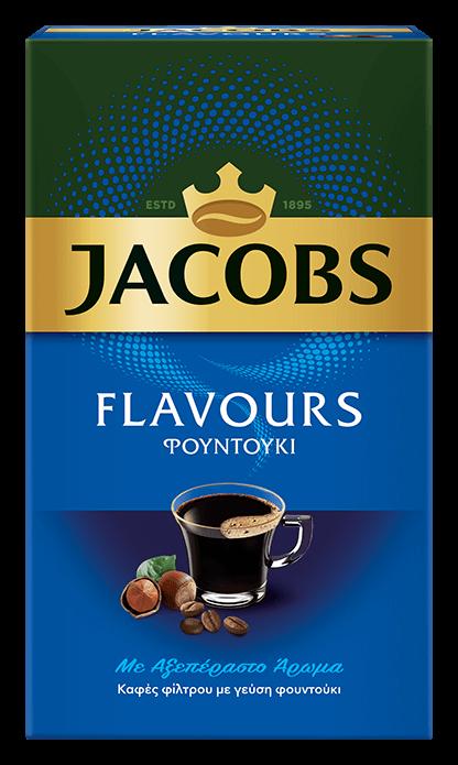 JACOBS flavours hazelnut 250g