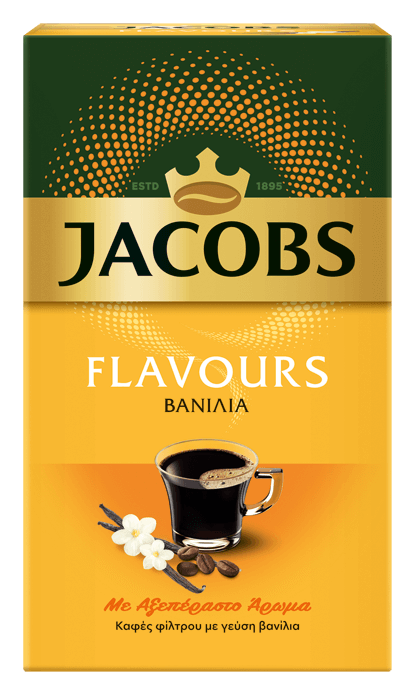 JACOBS flavours vanilla 250g