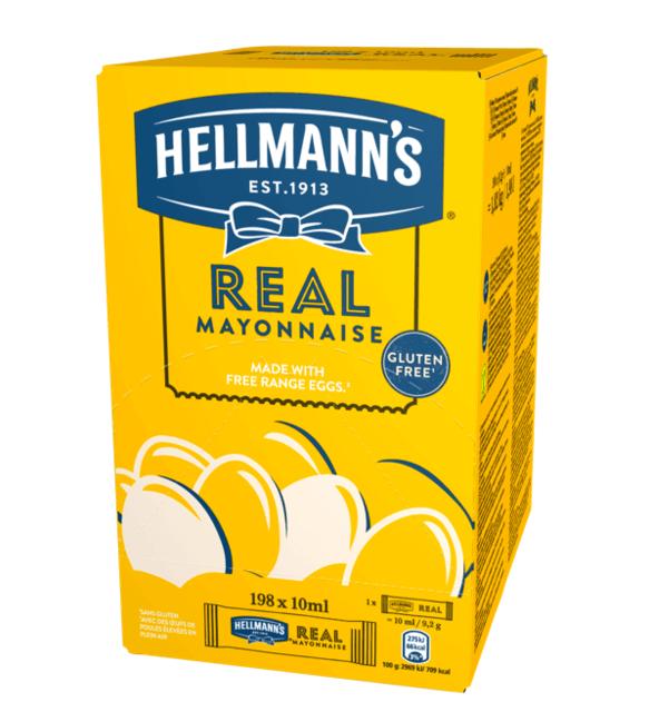 HELLMANS atomika real mayonnaise