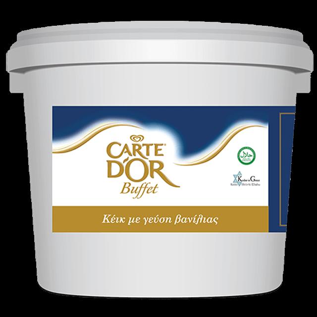 CARTE D OR buffet cake vanilia 5kg