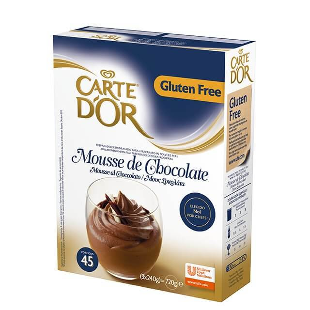 CARTE D OR mousse de chocolate
