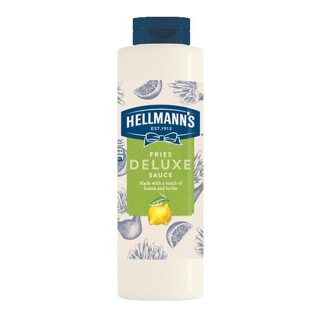 HELLMANS fries deluxe sauce