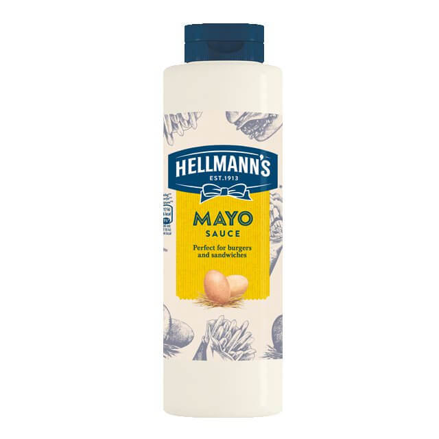 HELLMANS mayo sauce