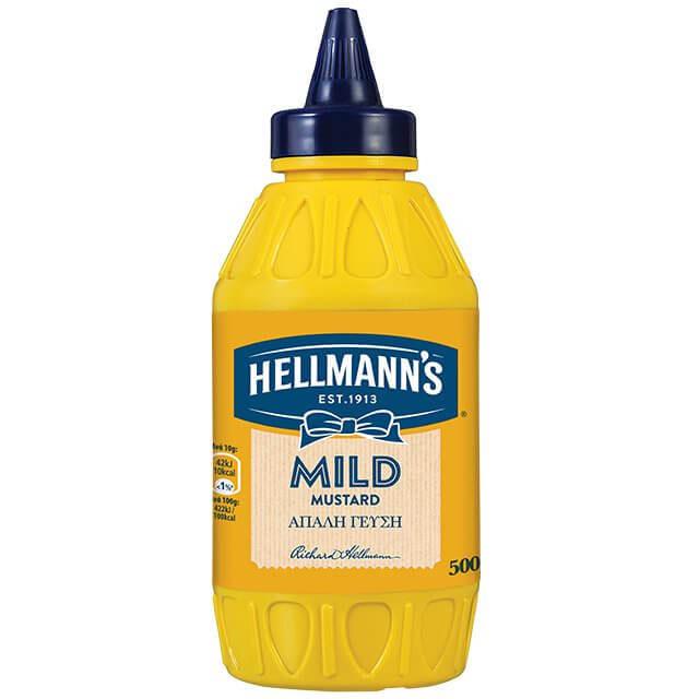 HELLMANS mild mustard 500g