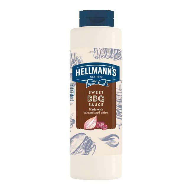 HELLMANS sweet BBQ sauce