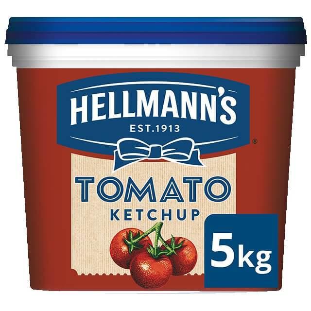 HELLMANS tomato ketchup 5kg