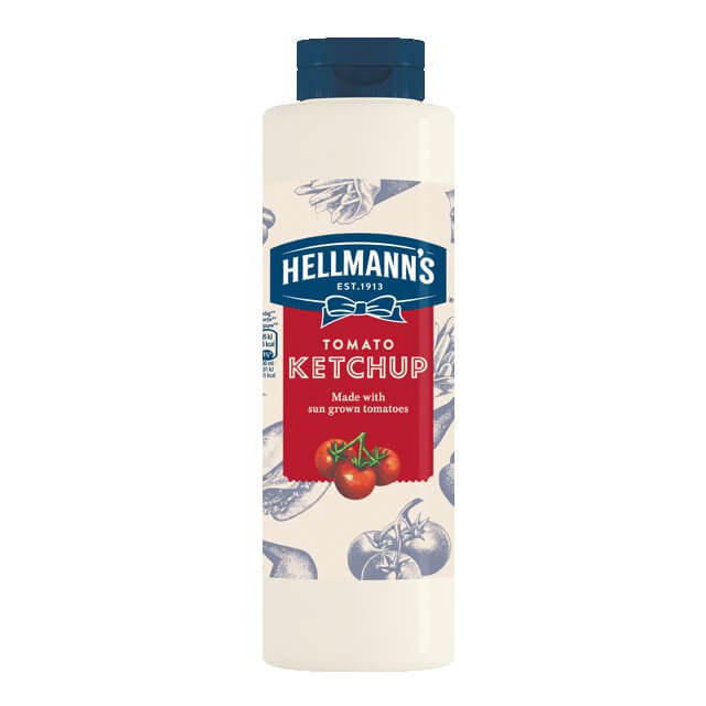 HELLMANS tomato ketchup