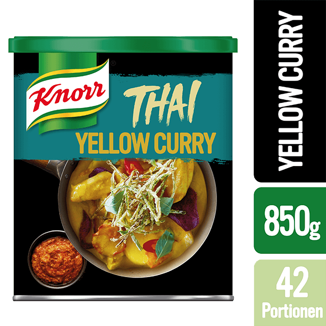 KNORR yellow curry