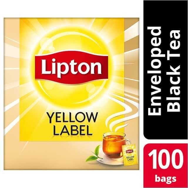 LIPTON fakelakia yellow label 100
