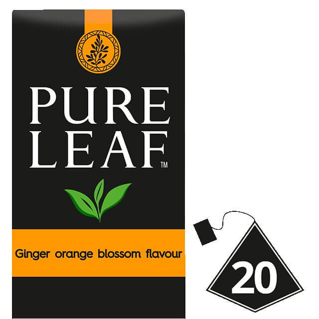 PURE LEAFE ginger anthos portokaliou